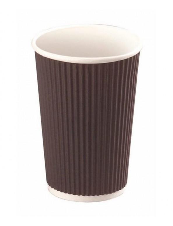 כוס גלים שחורה