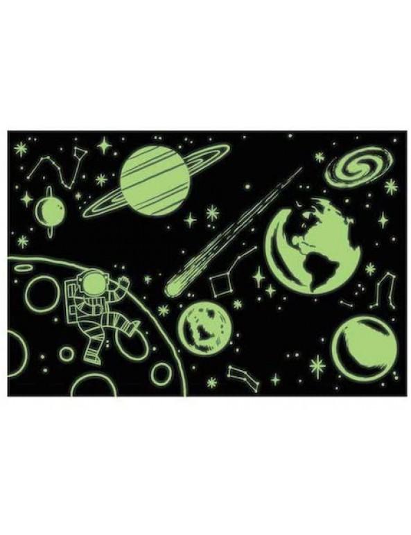 פאזל זוהר בחושך חלל- 100 חלקים