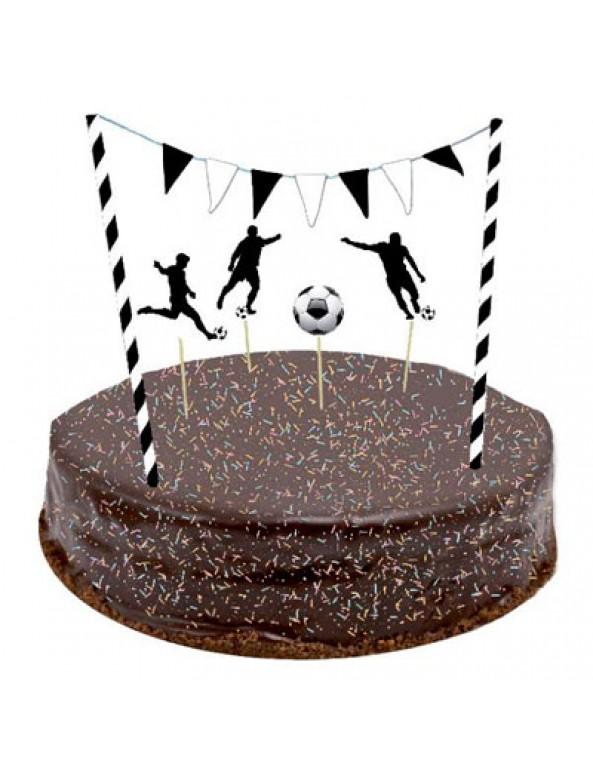 קישוטי עוגה כדורגל