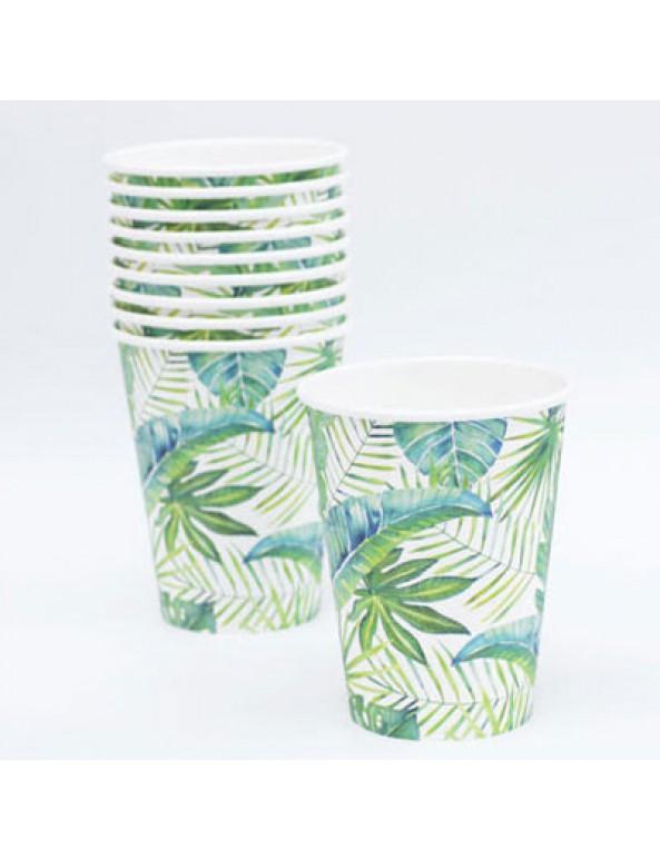 כוסות נייר טרופי