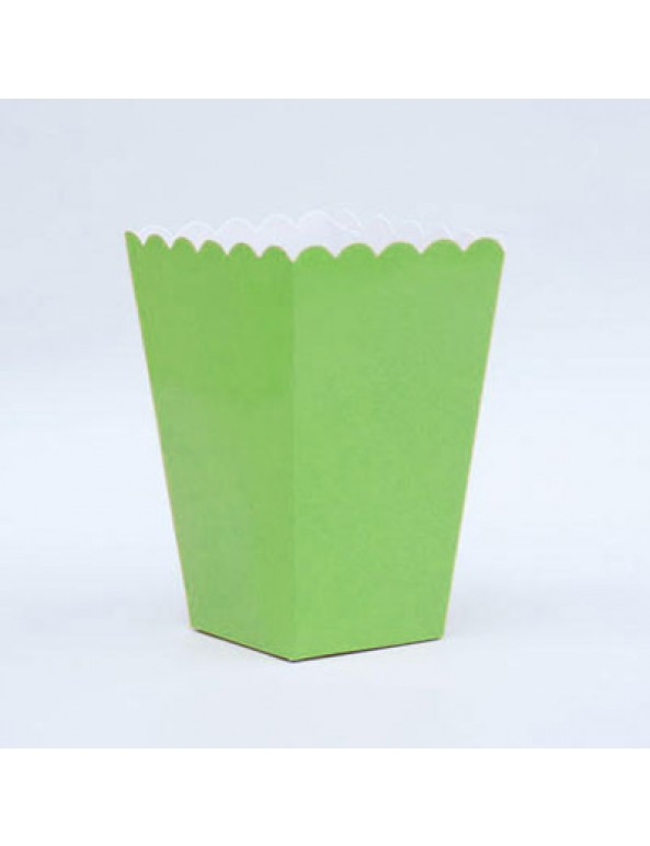 דלי פופקורן ירוק