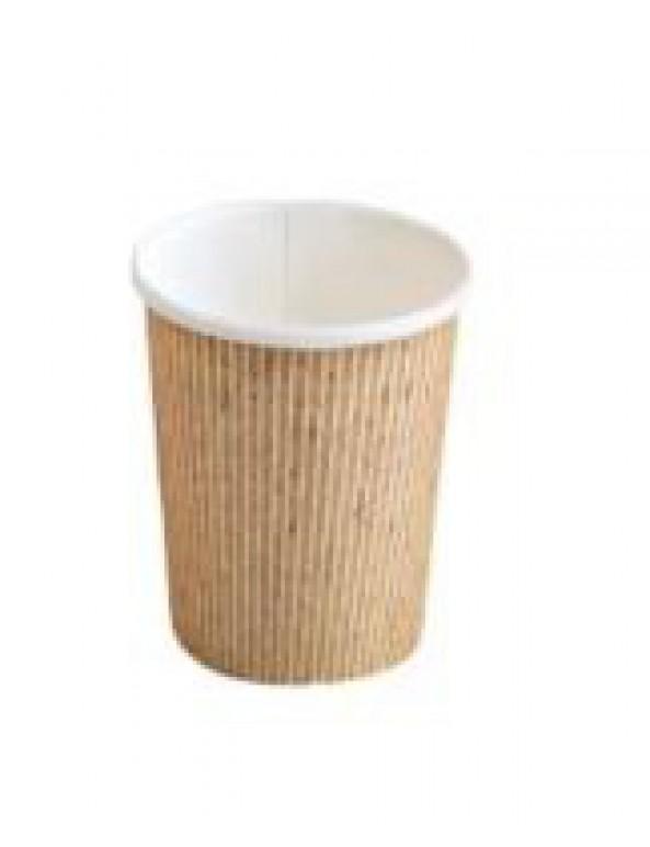 """כוס נייר טבעית 120 מ""""ל"""
