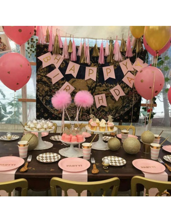 עיצוב שולחן ליום הולדת