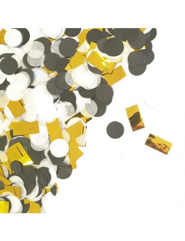 קונפטי עיגולי נייר - תכלת כסף, קונפטי, מנטה, קישוט שולחן, סידור שולחן, קישוטים, כסף, תכלת, קונפטי נייר, קונפטי עיגולים
