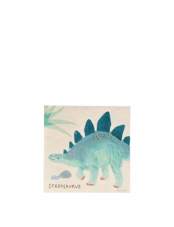 מפיות דינוזאורים- meri meri