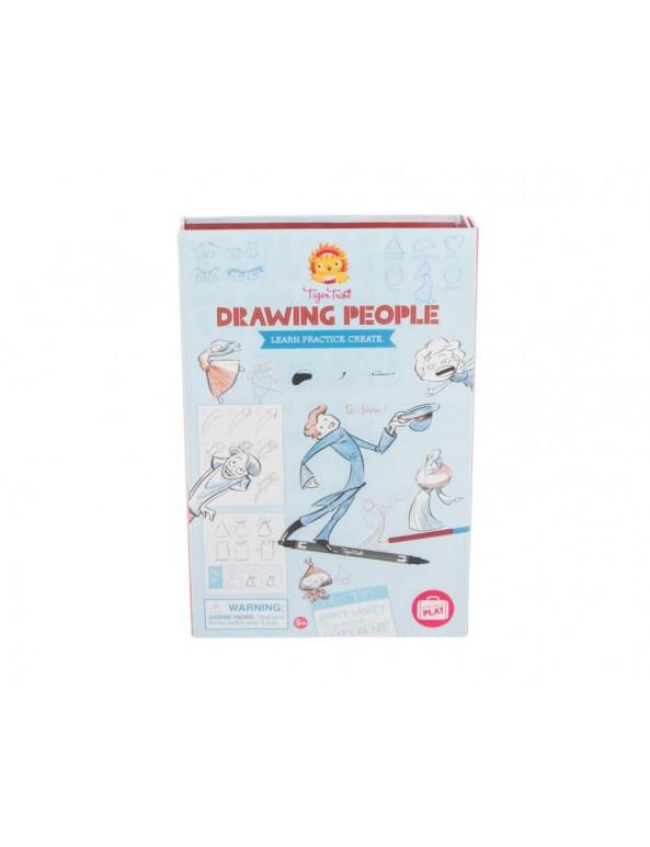 איך לצייר- אנשים