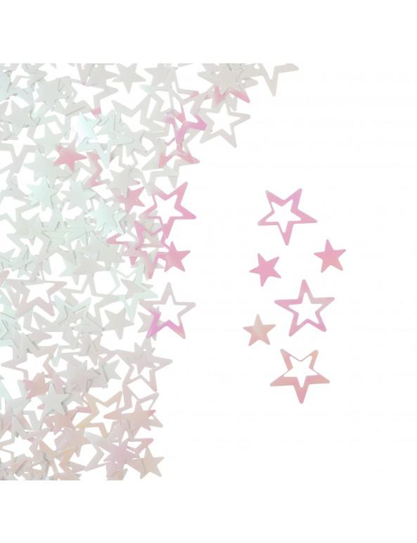 קונפטי כוכבים אולטרה לבן, קונפטי, קונפטי כוכבים, אולטרה, אולטרה לבן, סידור שולחן, עיצוב שולחן, יום הולדת, מסיבה, מסיבת יום הולדת