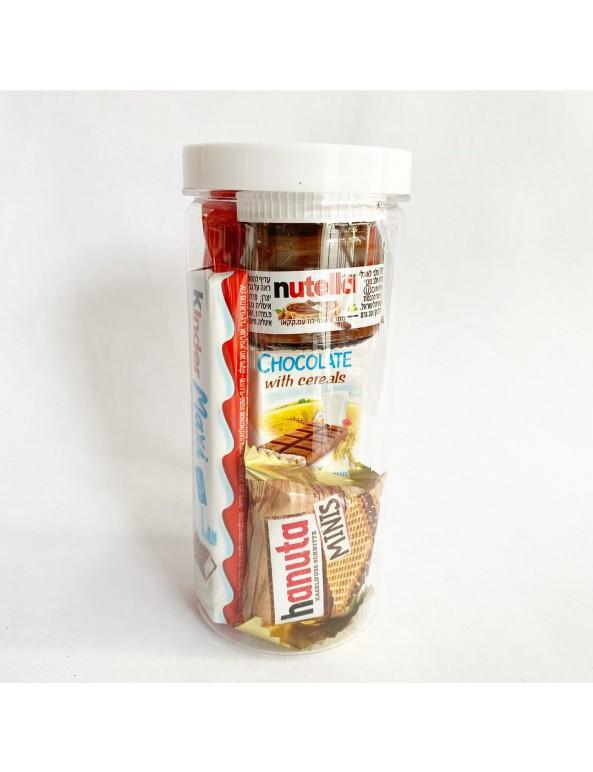משלוח מנות סוכריה- מיקס נוטלה
