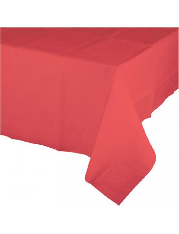 מפת ניילון צבע קורל