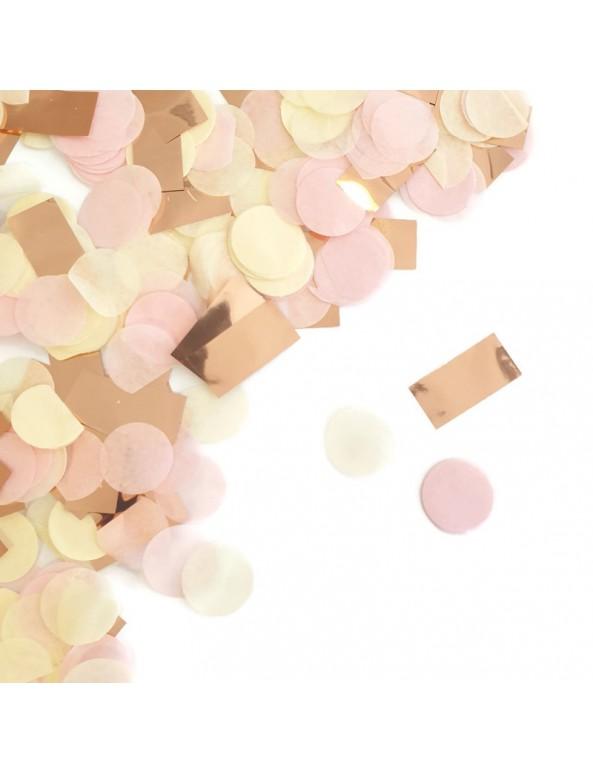 קונפטי עיגולי נייר - ורוד, פוקסיה, זהב, קונפטי, ורוד, קישוט שולחן, סידור שולחן, קישוטים, פוקסיה, זהב, קונפטי נייר, קונפטי עיגולים