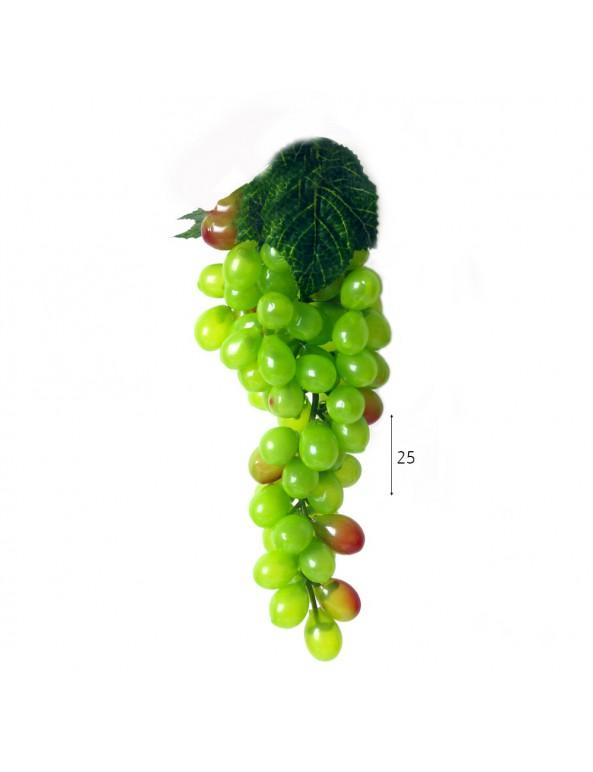 אשכול ענבים לקישוט מפלסטיק