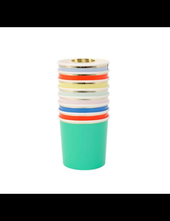 כוסות צבעוניות