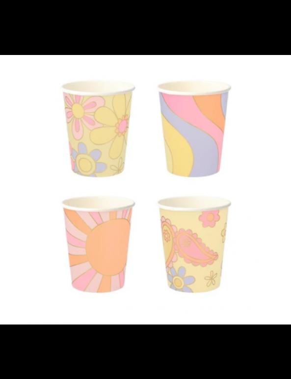 כוסות מקושקשות - Meri Meri