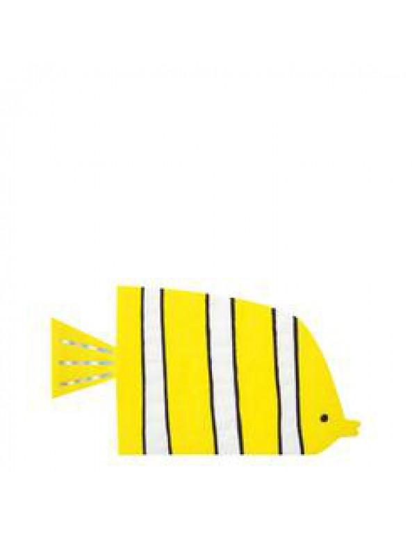 מפית, מפיות, דג, דגים, מתחת למים, ים, Meri Meri, צלחות צדף מבריקות - Meri Meri, מתחת למים, Meri Meri, שרשרת, קישוט מסיבה מתחת למים, ים, דגים, כריש, מסיבת יום הולדת, עיצוב יום הולדת ים, מתחת למים, צדף, צדפים