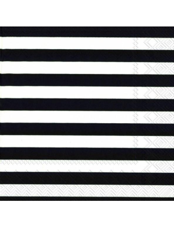 מפיות שחור לבן