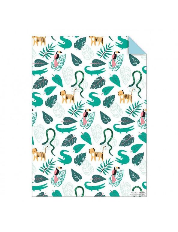 נייר עטיפה, ג'ונגל, טבע, מתנות, ים הולדת