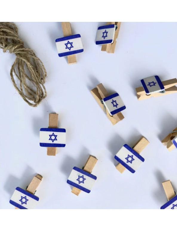 אטבי דגל ישראל