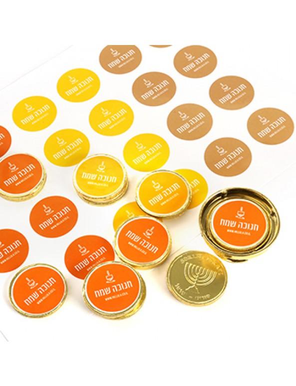 מטבעות שוקולד