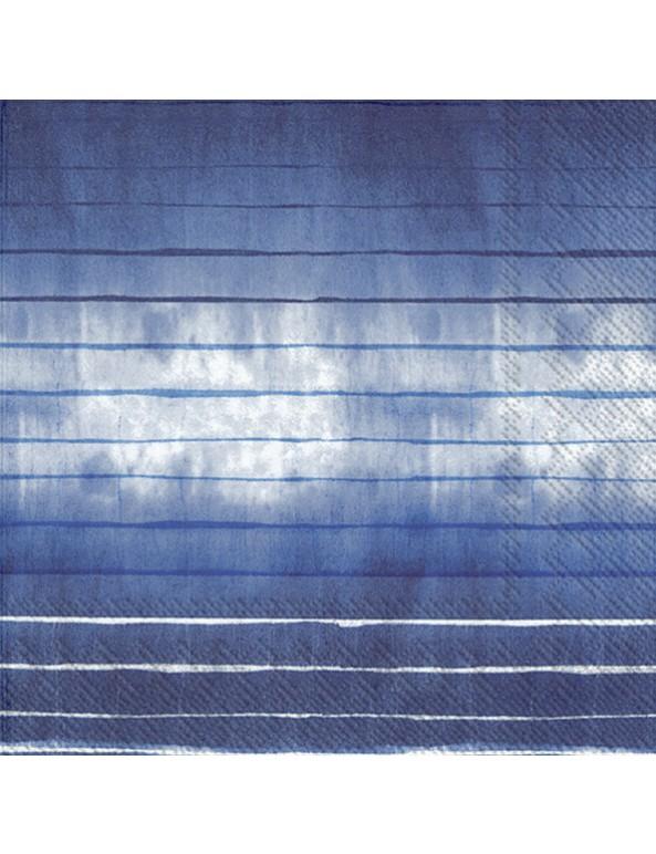 מפיות פסים כחולים