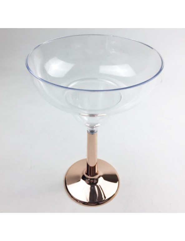 גביע מרטיני, רוז גולד, גביע, כלי הגשה, סידור שולחן, עיצוב שולחן, גביע מרגריטה רגל רוז גולד, רוז גולד