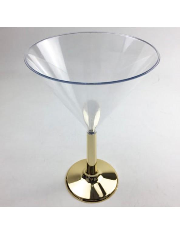 גביע מרטיני, זהב, מרטיני, גביע, כלי הגשה, סידור שולחן, עיצוב שולחן, גביע מרטיני רגל זהב, כלי הגשה, גביע
