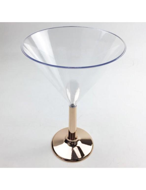 גביע מרטיני, רוז גולד, מרטיני, גביע, כלי הגשה, סידור שולחן, עיצוב שולחן