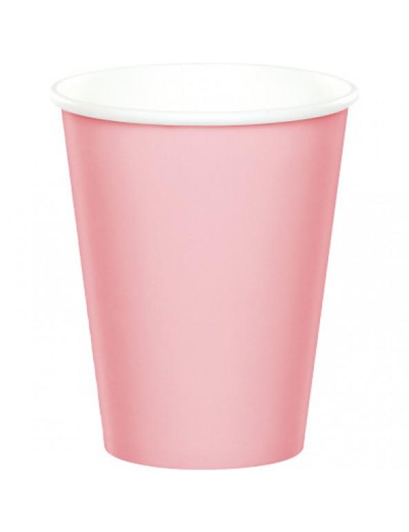 כוסות נייר ורוד, כוסות נייר גדולות ורוד, כוסות נייר, כוס נייר, כוס ורוד, כוסות ורוד, נייר, כלים מנייר, עיצוב שולחן, סידור שולחן