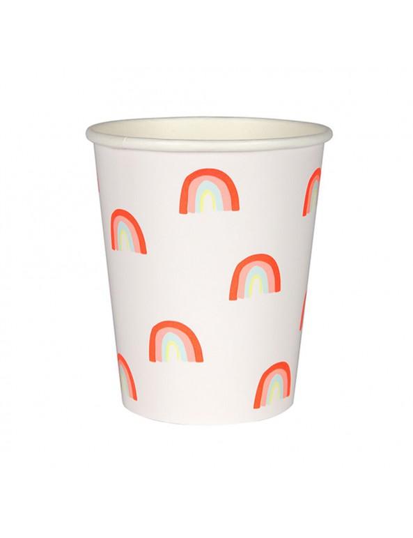 כוסות קשת בענן - Meri Meri, מפיות בצורת קשת בענן - Meri Meri, צלחות קשת בענן - Meri Meri, קשת, קשת בענן, חד קרן, יום הולדת, מסיבת יום הולדת, עיתוב יום הולדת קשת, עיצוב יום הולדת חד קרן, Meri Meri, צלחות, צלחות נייר, צלחות קשת, מפית, מפיות, מפית קשת, מפיות