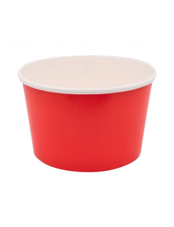 קופסה לפופקורן, קופסאות לפופקורן, משלוח מנות, פורים, דלי בינוני מנייר אדום