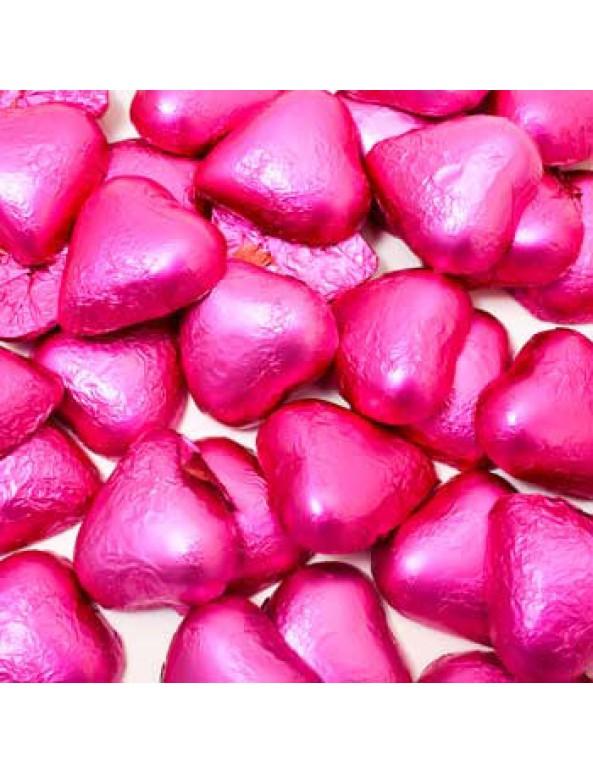 שוקולד לב ורוד