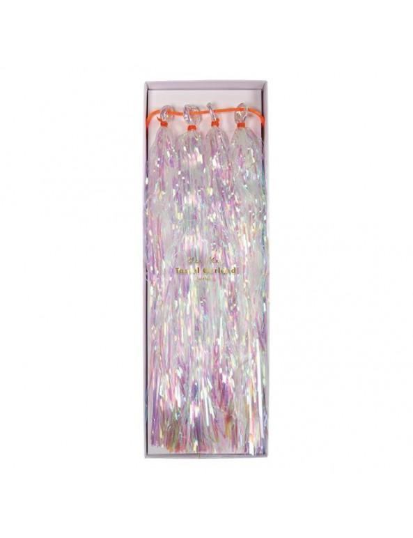 שרשרת טאסלים בצבעי אולטרה- Meri Meri