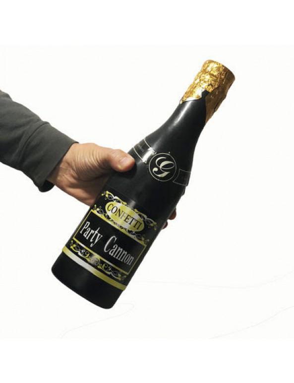 בקבוק שמפניה במילוי קונפטי