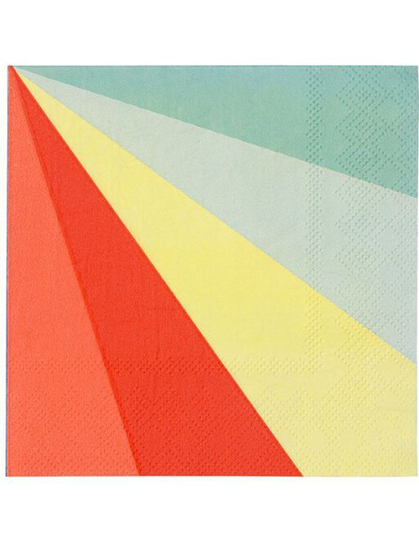 גלגל הצבעים, גלגל, צבע, צבעים, מפיות, מפיות גדולות, מפית גדולה, Meri Meri, מפיות גדולות גלגל הצבעים - Meri Meri