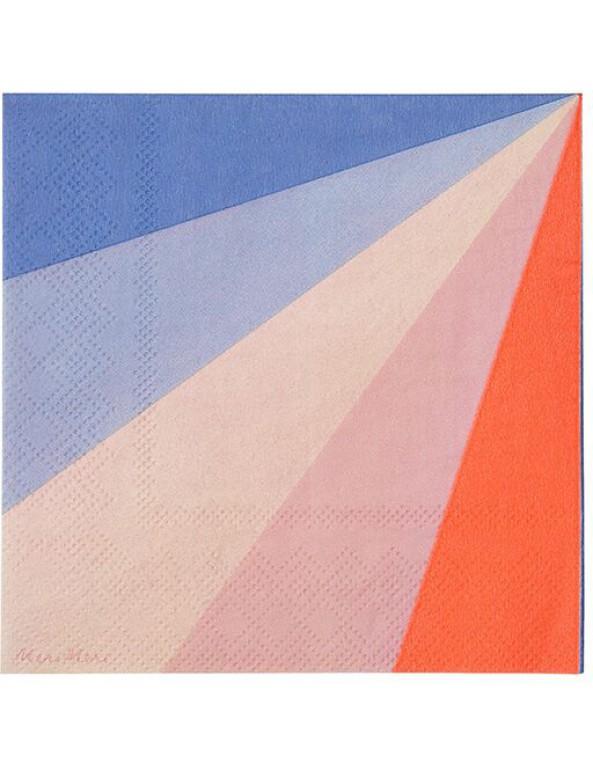 גלגל הצבעים, גלגל, צבע, צבעים, מפיות, מפיות קטנות, מפית קטנה, Meri Meri, מפיות קטנות גלגל הצבעים - Meri Meri