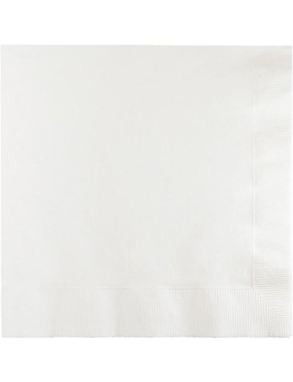 מפיות גדולות בצבע לבן