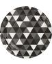 צלחות שחור לבן