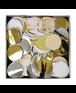 , Meri Meri, קונפטי, קישוט למסיבה, קישוטים למסיבה, סידור שולחן, מסיבת יום הולדת, קונפטי עיגולי נייר ורודים - Meri Meri