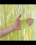 וילון פרנזים צהוב