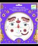 מדבקות פנים- נסיכה הודית