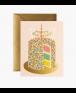 כרטיס ברכה יום הולדת - עוגה