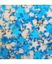 סוכריות לעוגה מיקס כחול
